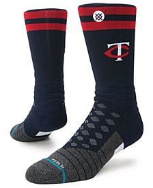 Minnesota Twins Diamond Pro Authentic Crew Socks