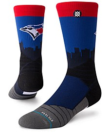 Toronto Blue Jays Diamond Pro Authentic Crew Socks