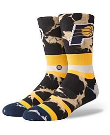 Indiana Pacers Acid Wash Crew Socks