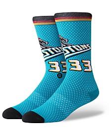 Stance Grant Hill Detroit Pistons Hardwood Classic Jersey Crew Socks