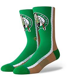 Boston Celtics Hardwood Classic Warmup Crew Socks