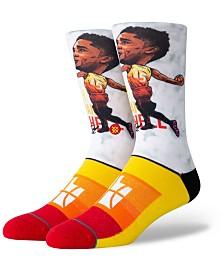 Stance Donovan Mitchell Utah Jazz Big Head Crew Socks