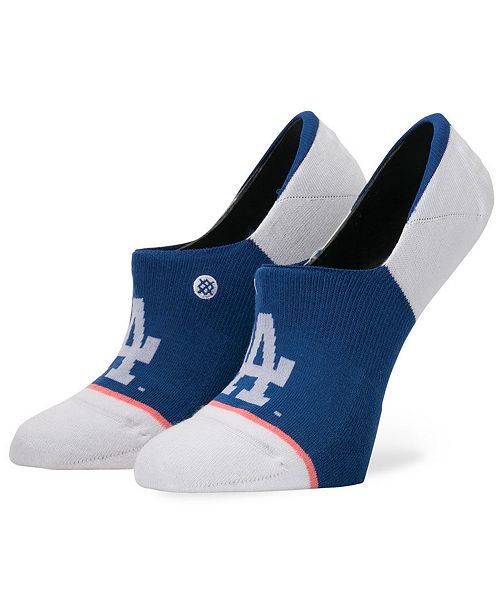 Stance Women's Los Angeles Dodgers Invisible No Show Socks