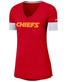 Nike Women's Kansas City Chiefs Dri-FIT Fan Top