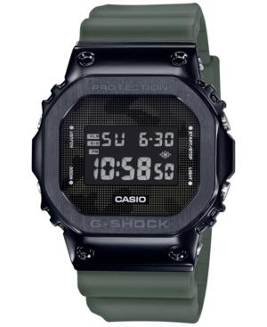 Men's Digital Green Resin Strap Watch 43mm