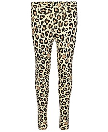 Big Girls Leopard-Print Leggings