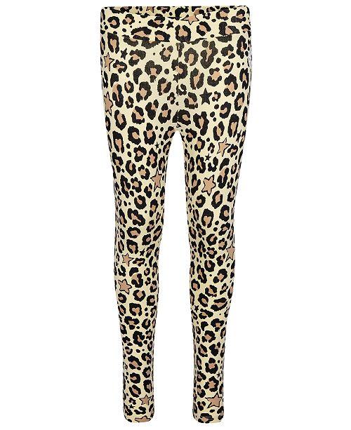 Converse Big Girls Leopard-Print Leggings