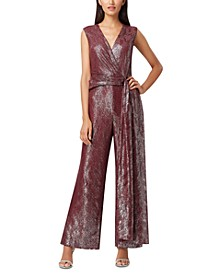 Foil Lace Jumpsuit