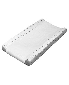 Star Print Changing Pad Cover