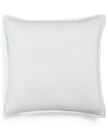 "CLOSEOUT! Linen Basic 20"" x 20"" Decorative Pillow, Created for Macy's"