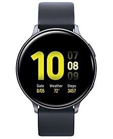 Galaxy Active 2 Black Silicone Strap Touchscreen Smart Watch 44mm