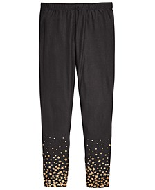 Big Girls Star-Print Leggings, Created For Macy's