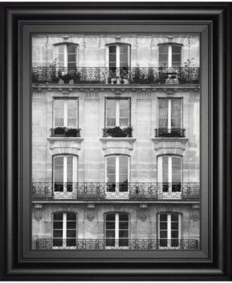 "Across The Street Il by Laura Marshall Framed Print Wall Art - 22"" x 26"""