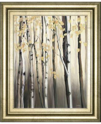 "Golden Birch Il by Julia Purinton Framed Print Wall Art - 22"" x 26"""