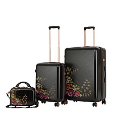 Fiori 3-Pc. Spinner Luggage Set