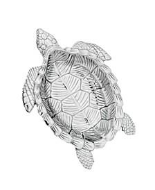 Designs Aluminum Sea Turtle Oval Bowl