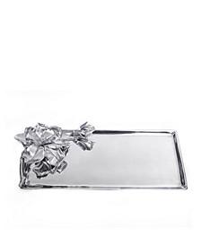 Designs Aluminum Magnolia Oblong Tray