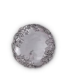 Designs Aluminum Grape Round Tray