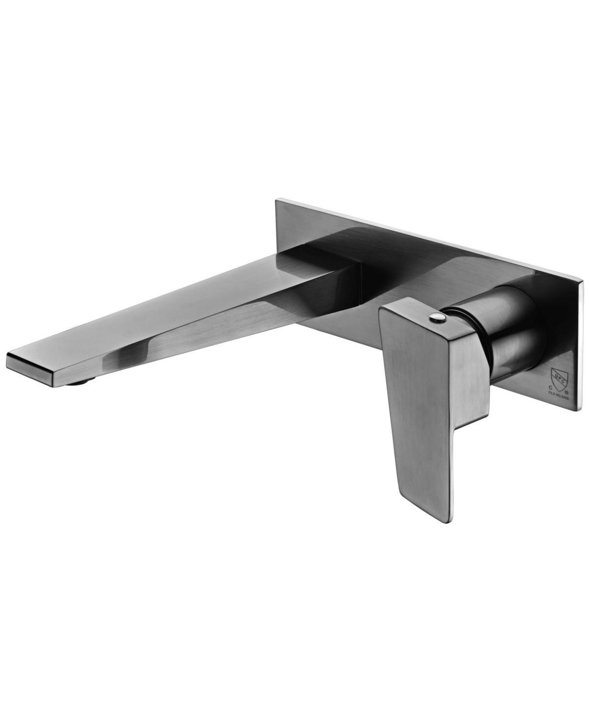 Alfi brand Brushed Nickel Wall Mounted Bathroom Faucet Bedding