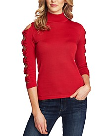 Cutout Bow-Detail Sweater