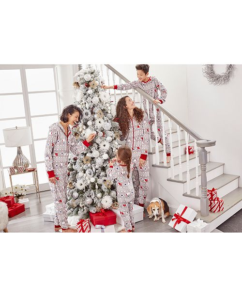Family Pajamas Matching Family One-Piece Pajamas, Polar Bear Created For Macy's