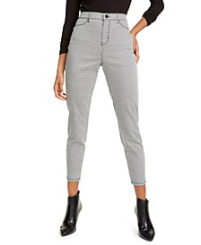 Juniors' Houndstooth Jeans