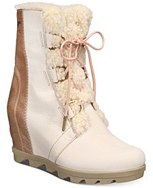 Women's Joan Of Arctic Wedge II Lux Booties