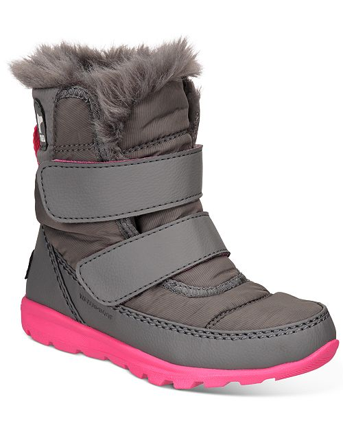 Sorel Little Girls Whitney Cold-Weather Boots