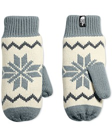 Women's Fair Isle Fleece-Lined Mittens