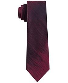 Men's Slim Abstract Stripe Silk Tie