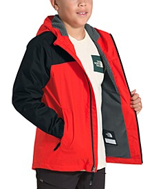 Little & Big Boys Warm Storm Hooded Jacket