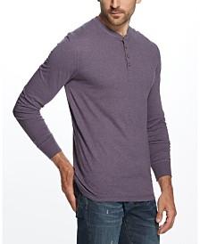 Weatherproof Vintage Men's Long Sleeve Jersey Henley