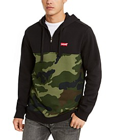 Men's Patrick Camo Block Quarter-Zip Hoodie