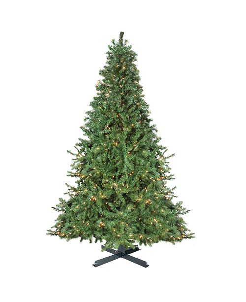 Northlight 15' Pre-Lit 2-Tone Canadian Pine Commercial Artificial Christmas Tree - Warm White Lights