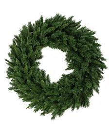 Lush Mixed Pine Artificial Christmas Wreath - Unlit