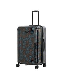 """Triforce Lumina 30"""" Spinner Iridescent Floral Print Luggage"""