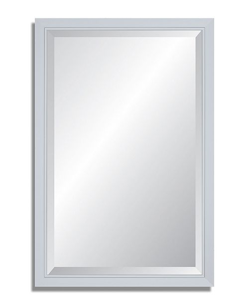 Reveal Frame & Decor Reveal Glacier Gloss Beveled Wall Mirror