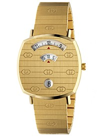 Grip Gold-Tone PVD Stainless Steel Bracelet Watch 35mm