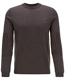 BOSS Men's Risa Regular-Fit Colour-Blocked Sweater