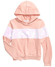 Big Girls Flip Sequins Hoodie