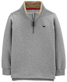 Carter's Little & Big Boys 1/2-Zip Sweatshirt