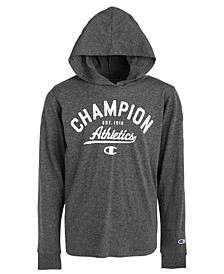 Big Boys Athletics-Print Hooded T-Shirt