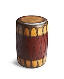 Navajo Drum Table, Quick Ship