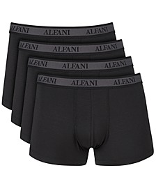 Men's 4-Pk. Trunks, Created for Macy's
