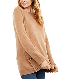 Maternity Buttoned Sweater