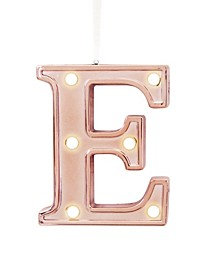 LED Light Up Marquee Initial Ornaments