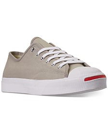 Converse Men's Jack Purcell Twill Low Top Casual Sneakers from Finish Line