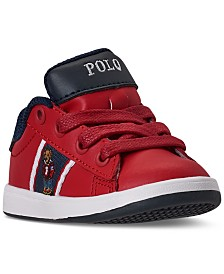 Polo Ralph Lauren Toddler Boys Quilton Bear Casual Sneakers from Finish Line