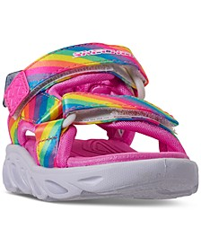 Toddler Girls S Lights Hypno-Splash Rainbow Lights Sport Sandals from Finish Line