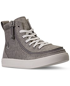 BILLY Big Boys Jersey Classic Lace High Top Casual Sneakers from Finish Line